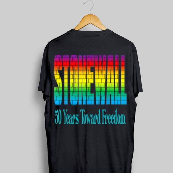 Lgbtq Gay Pride The Stonewall Riots 50th Anniversary Brick shirt