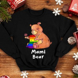 Mami Bear Proud Mom LGBT Gay Pride LGBT Mom shirt
