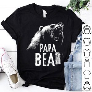 Papa Bear Fathers Day shirt