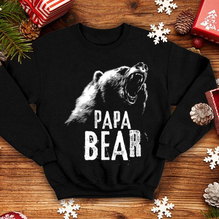 cb160b6c0 Papa Bear Fathers Day shirt, hoodie, sweater, longsleeve t-shirt