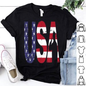 USA Military Salute US Flag July 4th Veterans Day shirt