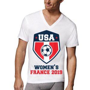 Women Soccer Team States Shirt France 2019 World Tournament shirt