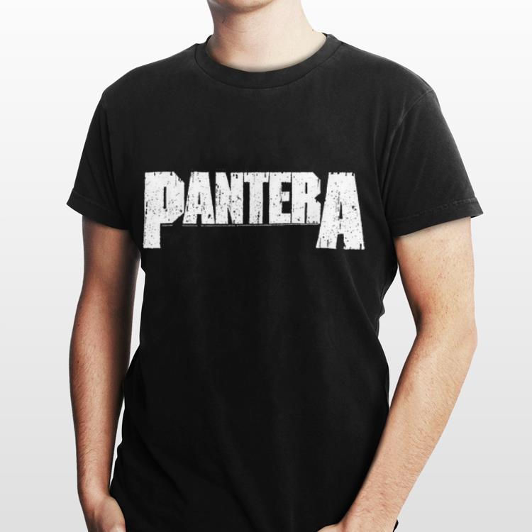 2 6 - Pantera Official White Logo shirt