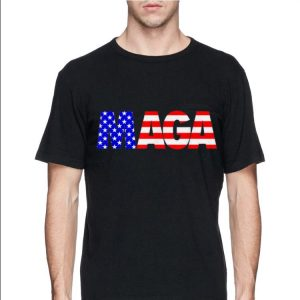 Maga Donald Trump 2020 American Flag 4th Of July shirt 2