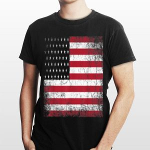 4th of July American Flag Independence Day Novelty Graphic shirt