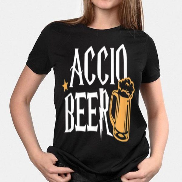 Accio Beer Harry Potter Magic Spell Drink shirt