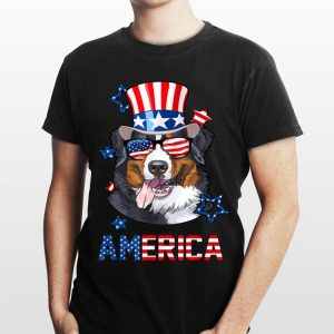 America Bernese Mountain Dog 4th of July shirt