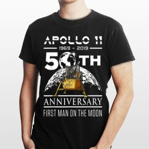American Apollp 11 Lunar Module 1969 2019 50th Anniversary First Man On The Moon shirt