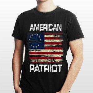 American Patriot Betsy Ross Flag shirt