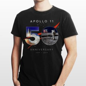 Apollo 11 50th Aniiversary 1969 2019 Nasa Logo shirt