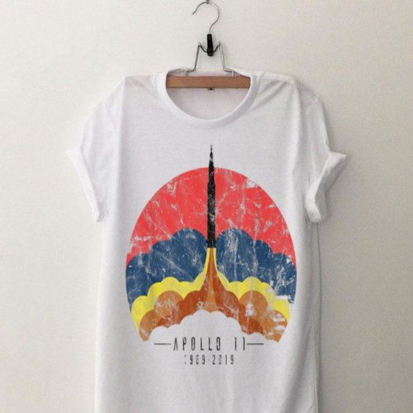 Apollo 11 Blastoff 50th Anniversary Moon Landing Space shirt