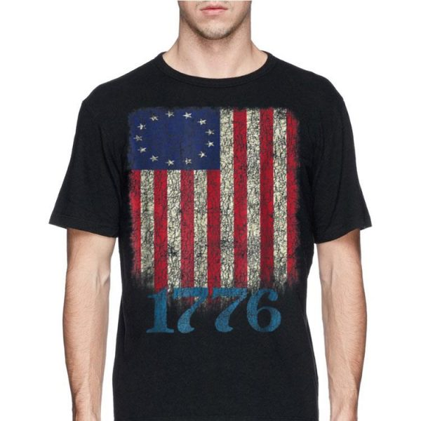 Betsy Ross Flag 4th Of July 1776 shirt