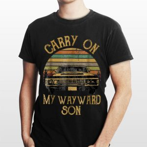 Carry On My Wayward Son Chevrolet shirt