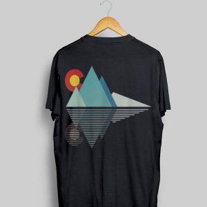 Colorado Flag Mountain shirt