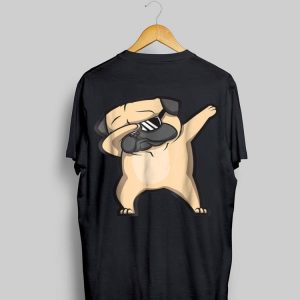 Dabbing Pug Dog Sunglass shirt