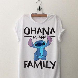 Disney Stich Ohana Means Family shirt