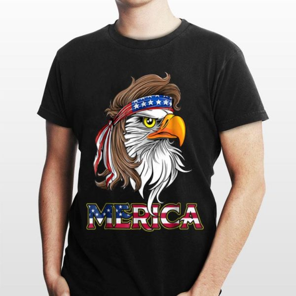 Eagle Mullet 4th Of July Merica Headband shirt