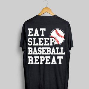 Eat Sleep Baseball Repeat shirt