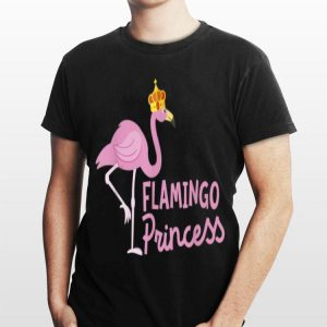 Flamingo Princess Gorgeous Crown Wading Bird shirt