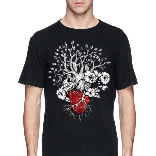 Flower Your Mind & Heart in the Forest Hike Camp shirt