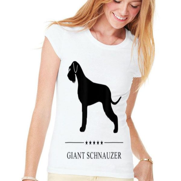 Giant Schnauzer Black Silhouette shirt