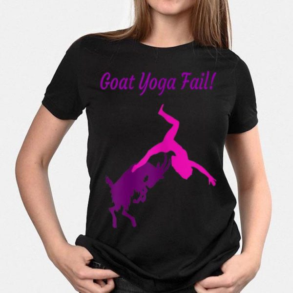 Goat Yoga Fail shirt