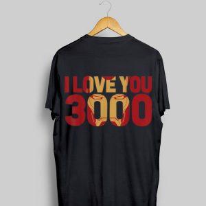 I Love You 3000 Marvel Avengers Endgame Iron Man Text shirt