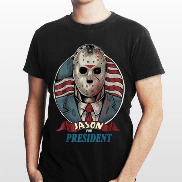 Jason For President American Flag shirt