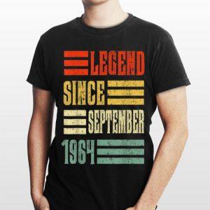 Legend Since September 1964 shirt