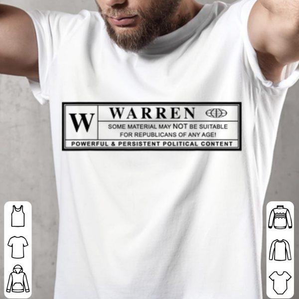 Warren Powrful & President Political Content shirt