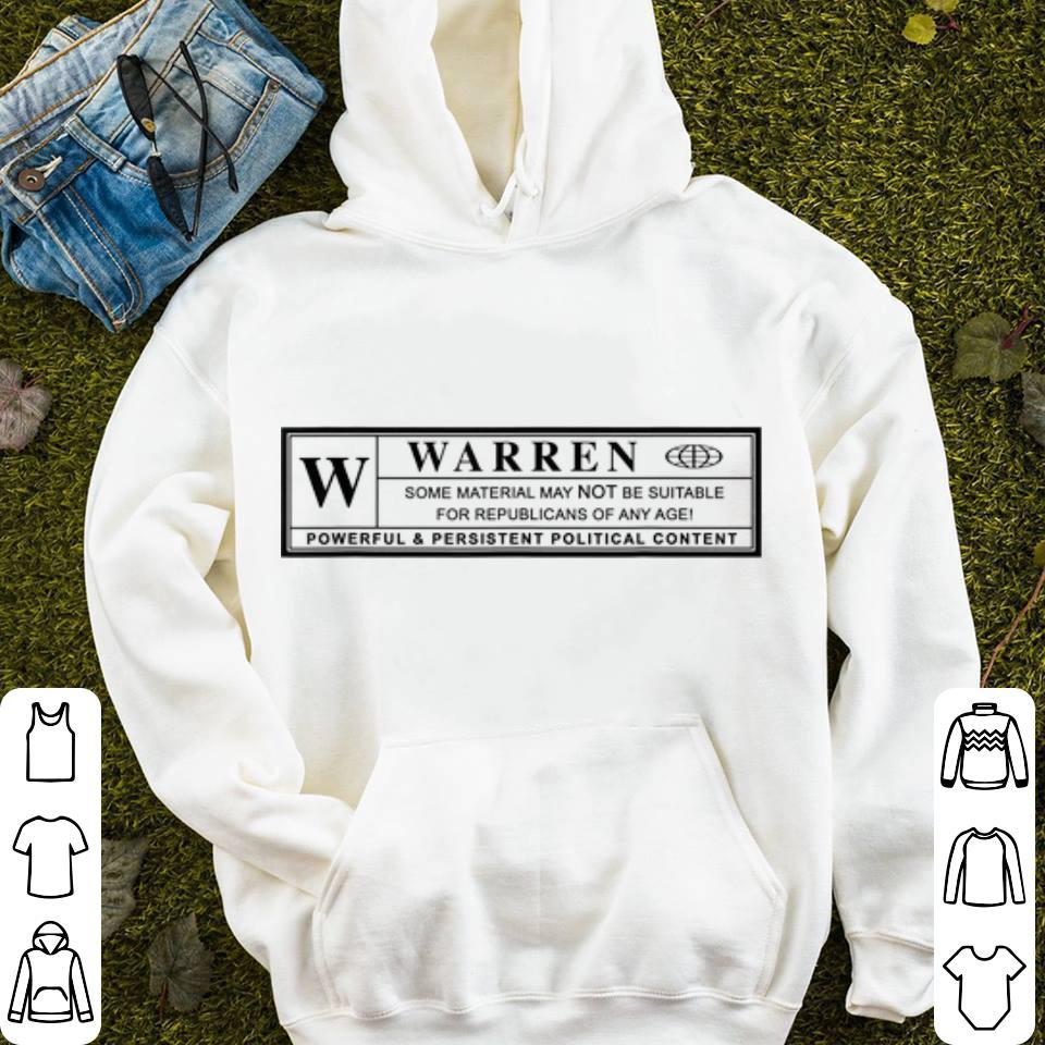 Mock4 - Warren Powrful & President Political Content shirt