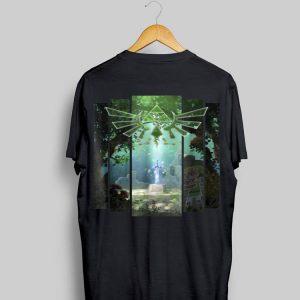 Nintendo Zelda The Master Sword Lost Woods Artwork shirt