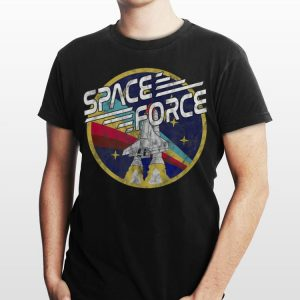Space Force Rainbow Logo shirt