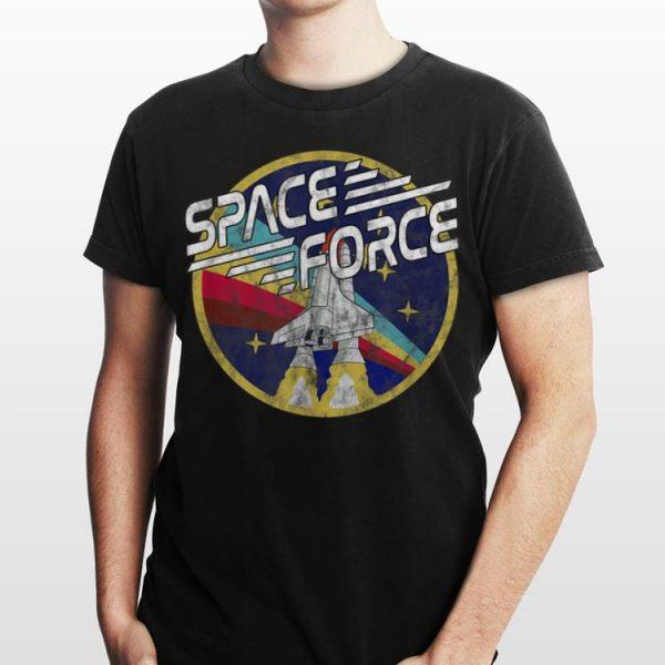 Space Force Rainbow Logo shirt