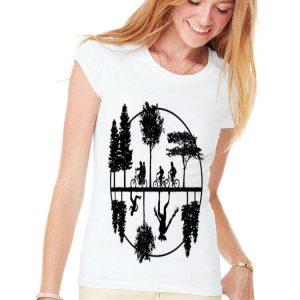 Stranger Things Style Upside Down World shirt