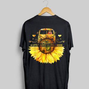 Sunflower Peace Bus A Little Hippie A Little Hood shirt