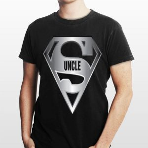 Uncle Superman Logo shirt