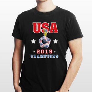 Usa Women Soccer World Champion Gold Cup 2019 shirt