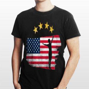 Usa World Champion Soccer Rapinoe Animal American Flag 4 Star shirt