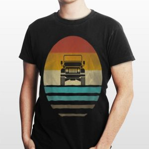 Vintage Jeeps Retro 70s Distressed Off Road shirt