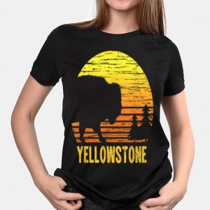 Vintage Yellowstone National Park Retro Travel shirt