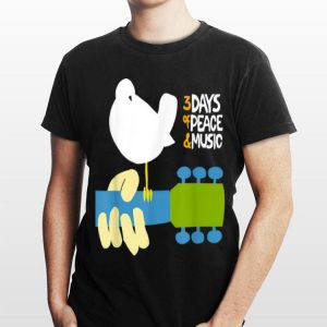 Woodstock 3 Days Of Peace And Music shirt