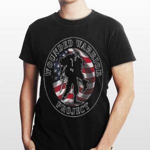 Wounded Warrior Project American Flag shirt