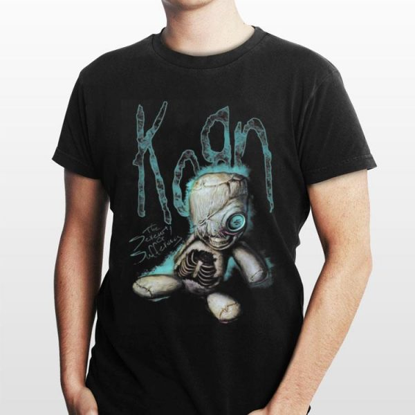the serenity of suffering Horror korn shirt