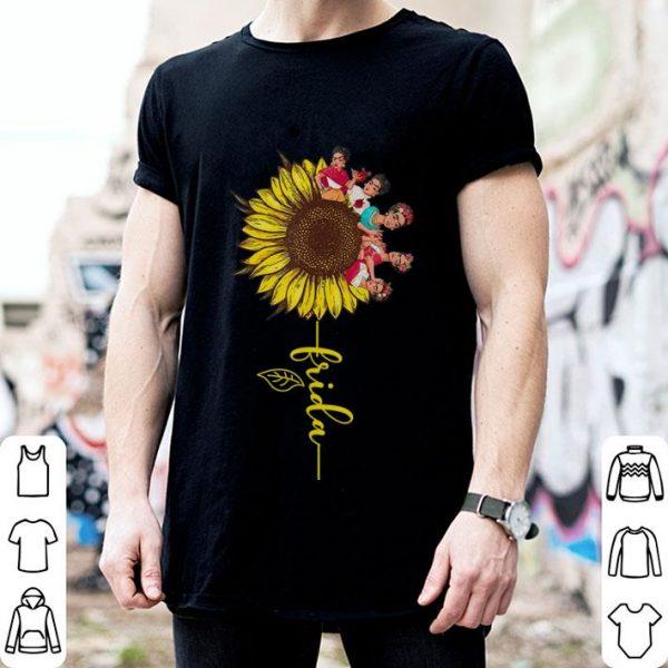 Sunflower Frida Kahlo shirt