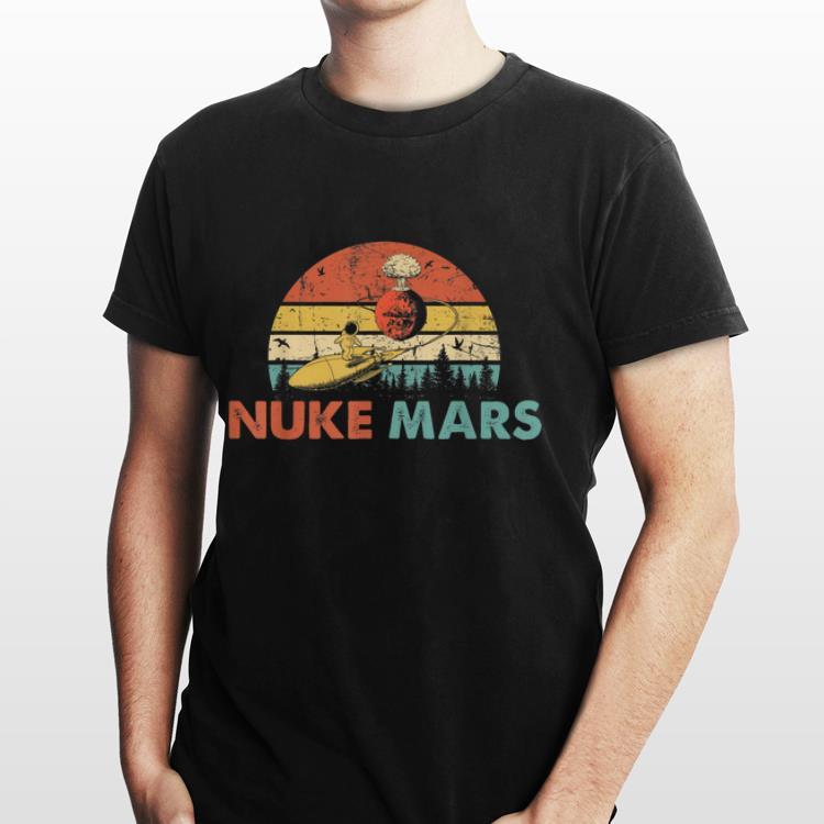2 22 - Nuke Mars Astronauts Rocket Vintage shirt