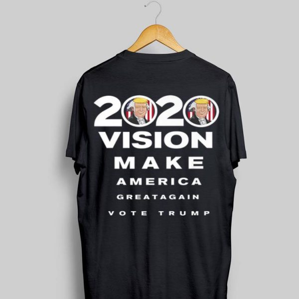 2020 Trump Vision Make America Greatagain Vote shirt