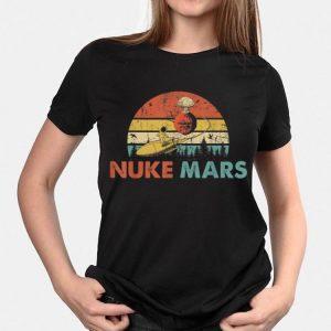 Nuke Mars Astronauts Rocket Vintage shirt