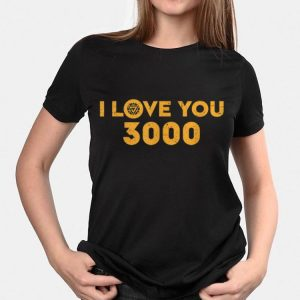 Marvel Avengers Endgame Iron Man I Love You 3000 shirt