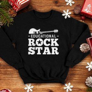 Educational Rockstar Rock Guitar shirt